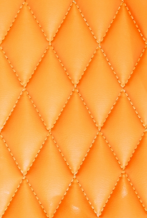 Orange texture background of armchair.
