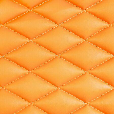 Orange texture background of armchair.