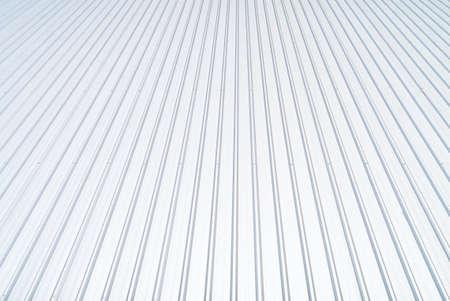 sheet metal: Metal sheet grey color roof.