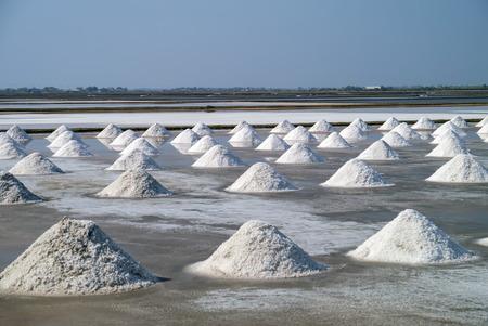 Salt farm in Thailand.