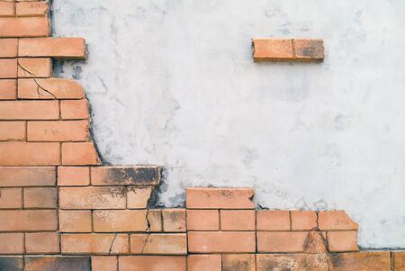 Thai style textures pn wall.