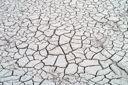 Cracked earth texture art background. Stock Photo
