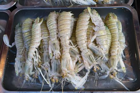 fish market: Crab in fish market Thailand. Stock Photo