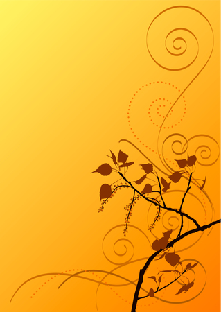 poplar background Vector