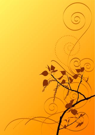 poplar background Illustration