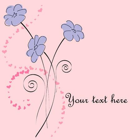 greetings card Illustration