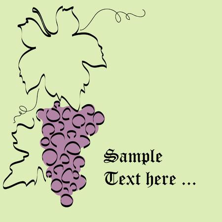 raisins: vine card