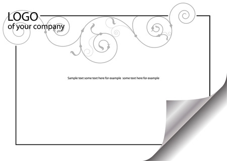 empty blank