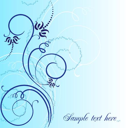 dragonfly art: seaweeds Illustration