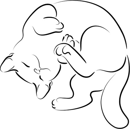 kitty Stock Vector - 4656814