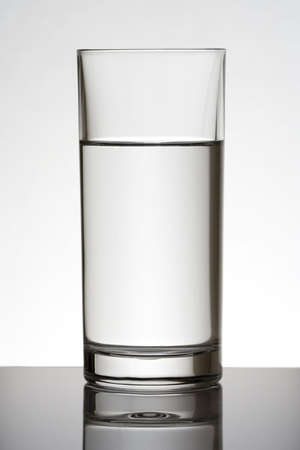 Water glass in baclkight