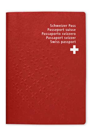 Swiss Passport Stock Photo