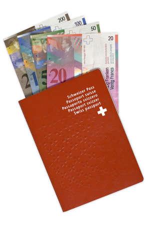 Swiss Passport and Money