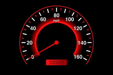 Speedometer illustration