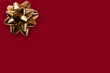 free space: Gift background with a bow Stock Photo