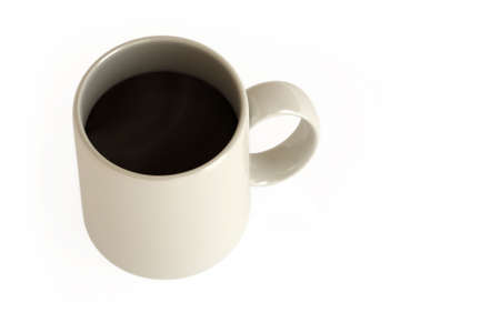expresso: Coffee mug isolated over a white background. This is a 3D rendered picture.