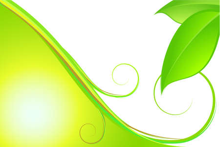 vegetal: Nature abstract background. Fully editable vector image.