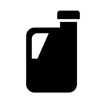 Vector de galón, icono de diseño sólido relacionado con la tienda de comestibles