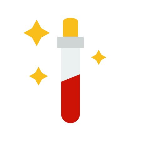 Potion vector, Magic related flat design icon