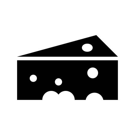 Cheese vector, Barbecue related solid design icon