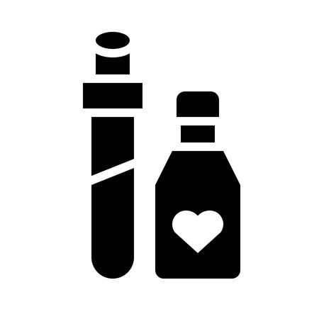 Potion vector, Magic related solid design editable stroke icon