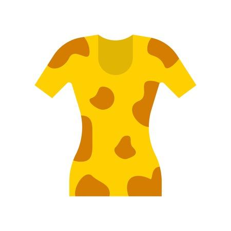 Women dress vector illustration, flat design icon