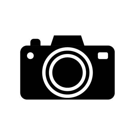 Camera vector, Social media solid design icon