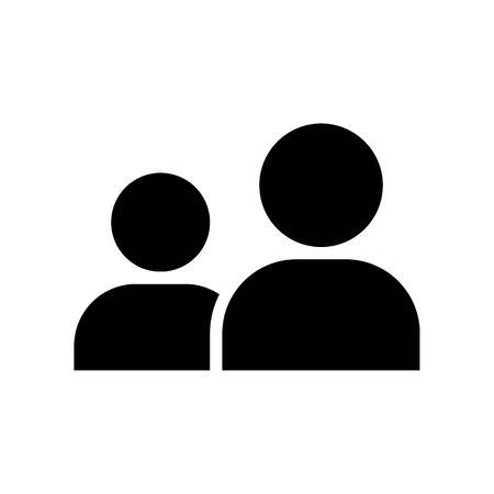 Friend vector, Social media solid design icon
