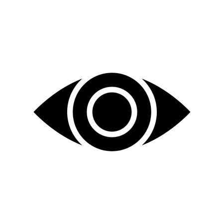 Eye vector, Social media solid design icon