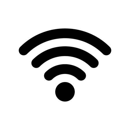 WIFI vector, Social media solid design icon