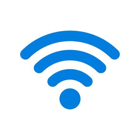 WIFI vector, Social media flat design icon