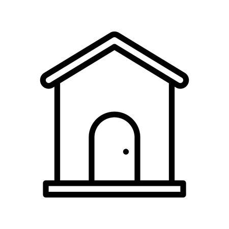 House vector, Social media line design icon