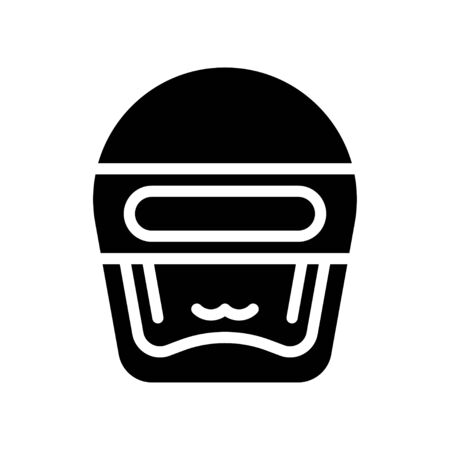 Robot head vector, Robotics related solid style icon