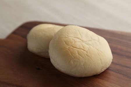 white bread on wood cutting board