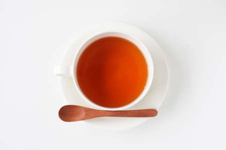 cup of tea isolated on white background 写真素材