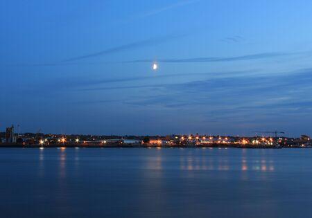 Moon River Thames Reflection