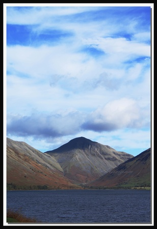 Scafell Pike Lake District photo