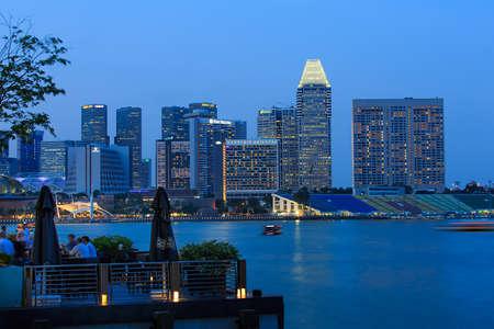 twilight: city twilight riverside
