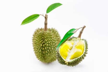 Durian king of fruit. Stock Photo