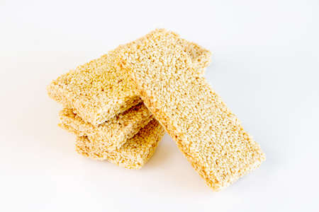 Sesame Sweets ( Mawlid Halawa )- Egyptian Culture Dessert usually Eaten During Prophet Muhammad Birth Celebration