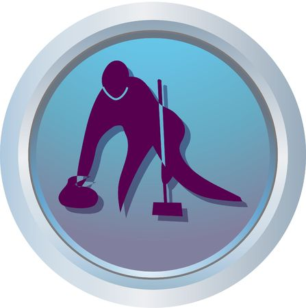 curling logo Stock Photo - 318449