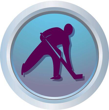 bobsleigh: hockey logo