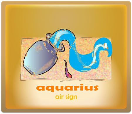 air sign - aquarius Stock Photo - 337324