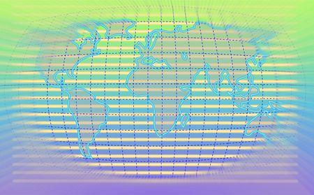 world blur - background