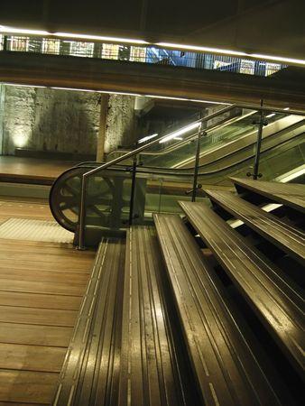 sub station: underground