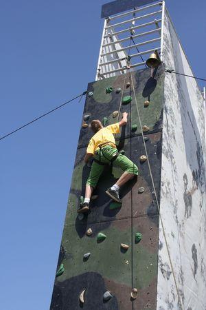 teener: training (boy) Stock Photo