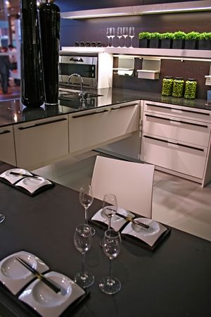modern kitchen Stock Photo - 549990