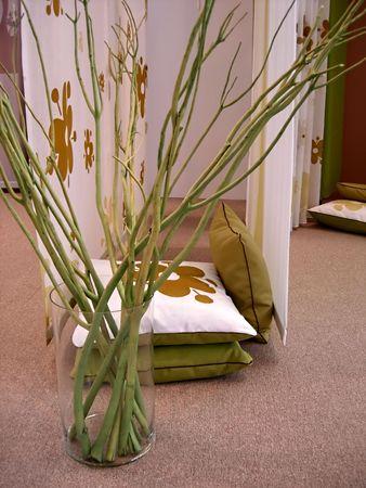 twigs in vase Stock Photo - 549949