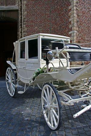 wedding carriage photo