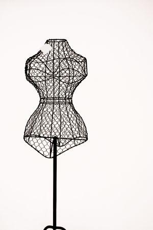 mannequins: Pin-Modell  Lizenzfreie Bilder